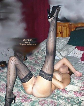 Pic #3 - Wife In Lingerie And Heels