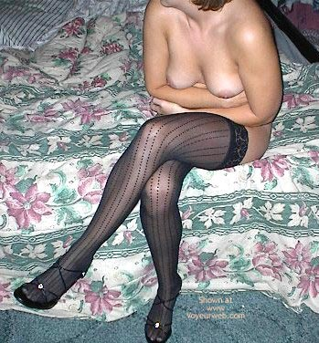 Pic #7 - Wife In Lingerie And Heels