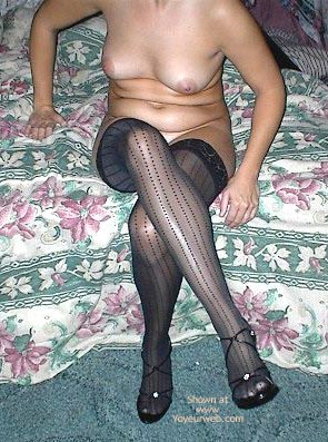 Pic #8 - Wife In Lingerie And Heels