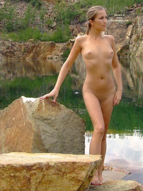 Pic #1 - Reflections Of A Dream - Nude Outdoors, Shaved Pussy, Small Breasts, Naked Girl, Nude Amateur, Sexy Figure, Small Areolas , Nude By Lake, Nude At The Lake, Tiny Waist, Looking Away From Camera, Small Perky Breasts, Totaly Nude By The Lake, Standing In Nature, River Nymph, Far Away Look