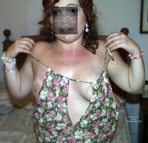 Pic #3 - Madrilenya Con Vestido De Fiesta