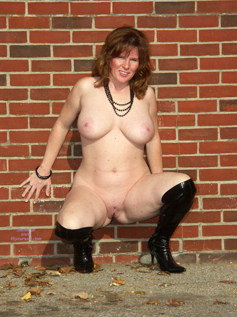 Pic #2 Lisajane In Her Black Boots