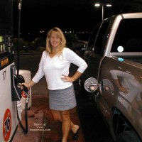 *GS Vikki at The Gas Station