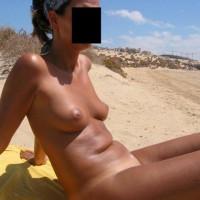 Mi Mujer Marta Desnuda En La Playa