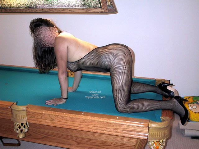 Pic #3 - Wife Playing Pool