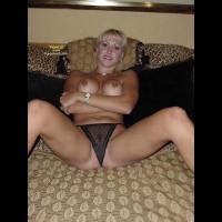 Spreading Legs - Perky Tits, Spread Legs, Sexy Panties