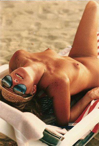 Nude Wife Sunbathing