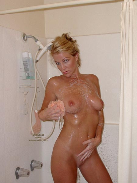 Pic #4 - Audrey Shower Time