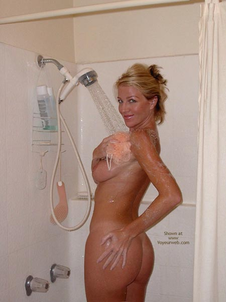 Pic #5 - Audrey Shower Time