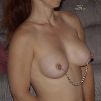 Nipple Chain - Big Nipples, Long Nipples, Nipple Ring