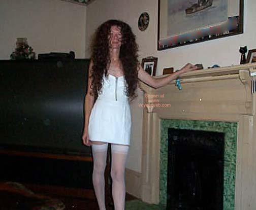 Pic #1 Georgia Girl in White Leather