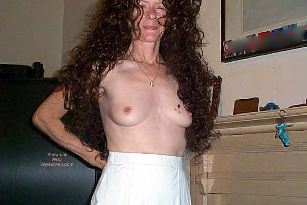 Pic #5 Georgia Girl in White Leather
