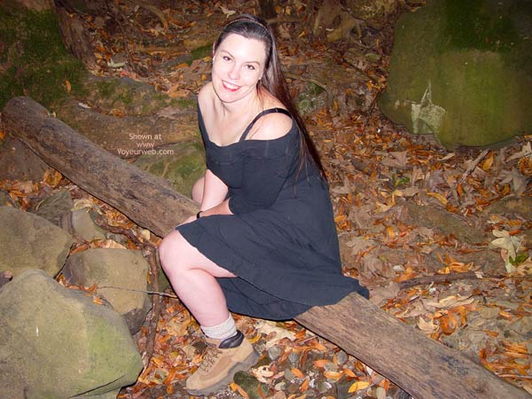 Pic #1 - Bbw Vicki Gets Naked In The Forest