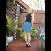 My Blue Jean Skirt
