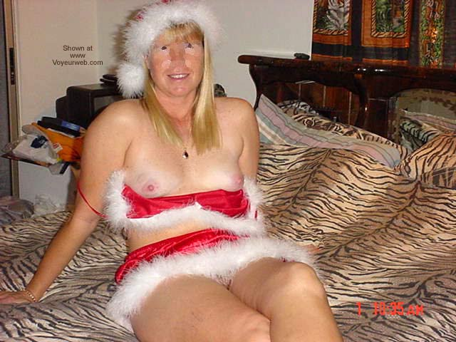 Pic #3 - Naked at Xmas