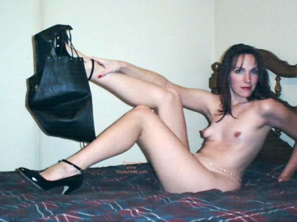 Pic #2 - Celeste in Leather 5