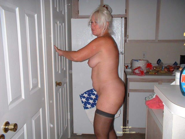 Pic #3 - Tammy Cleaning Part 2