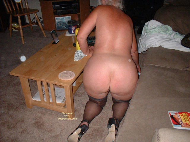 Pic #4 - Tammy Cleaning Part 2