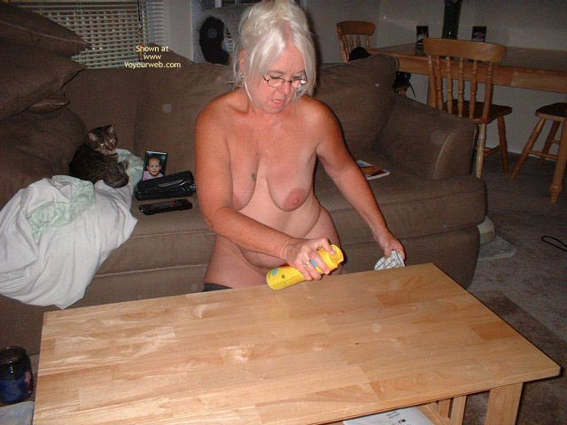 Pic #5 - Tammy Cleaning Part 2