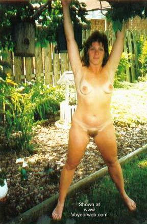 Pic #3 - Chantelle Having Fun in The Backyard