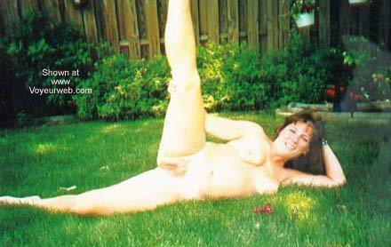 Pic #5 - Chantelle Having Fun in The Backyard