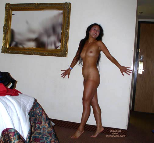 Pic #3 - Asian Lani Up Against The Wall