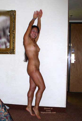 Pic #4 - Asian Lani Up Against The Wall