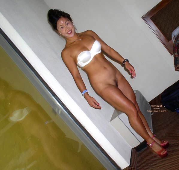 Pic #8 - Asian Lani Up Against The Wall