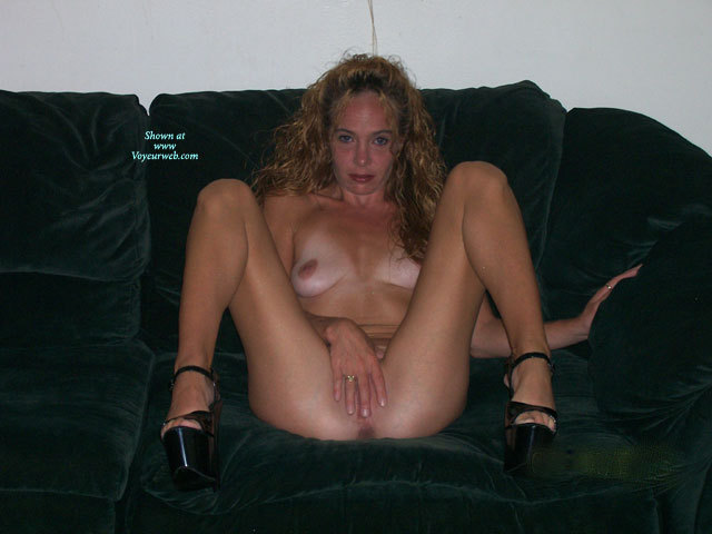 Pic #1 - Drunk Nude Girlfriend - Blonde Hair, Long Hair, Tan Lines, Naked Girl, Nude Amateur , Sitting Nude Covering Pussy, Black Platform Shoes, Blonde Hiding Pussy With Hand, Finger Covering Beaver, Cover Pussy, Nude Sitting On Black Couch, Hand Covering Pussy