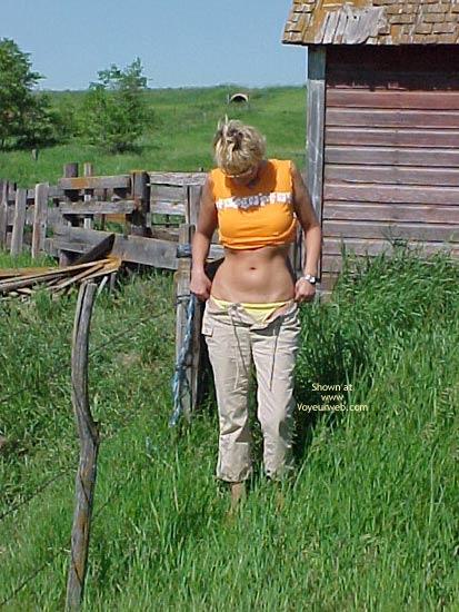 Pic #1 - My Dutch Blondie In The Field