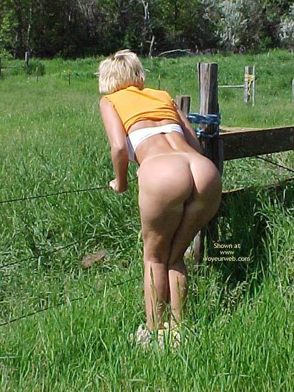 Pic #6 - My Dutch Blondie In The Field