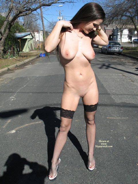 nude outdoor streets