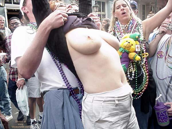 Pic #4 - Mardi Gras Last Year On Bourbon Street