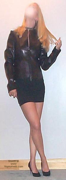 Pic #1 - Kalynn In Black Leather