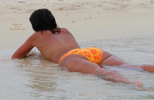 Pic #1 - Wife On The Beach