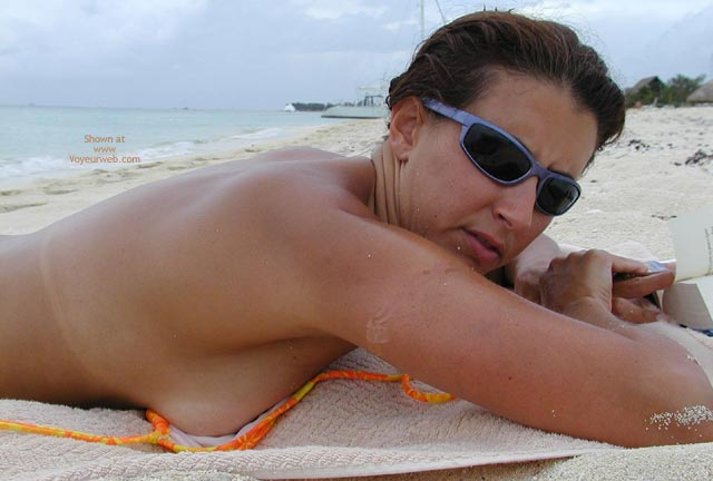 Pic #4 - Wife On The Beach