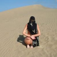 Nude Girl Bound On Dune - Bondage, Naked Girl, Nude Amateur