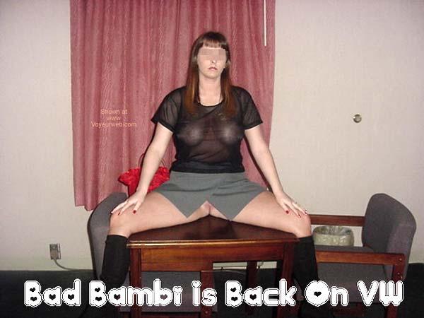 Pic #3 - Bad Bambi Is Back & BI!