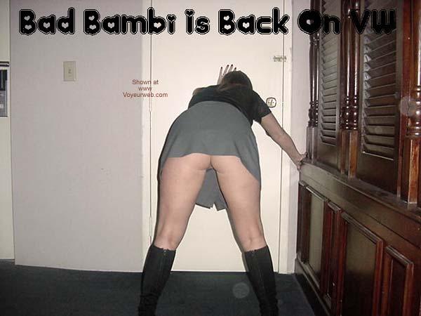 Pic #5 - Bad Bambi Is Back & BI!