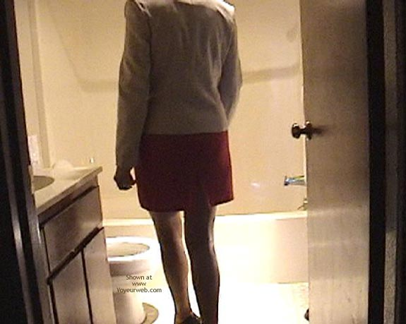 Pic #1 - Kate In Bathroom