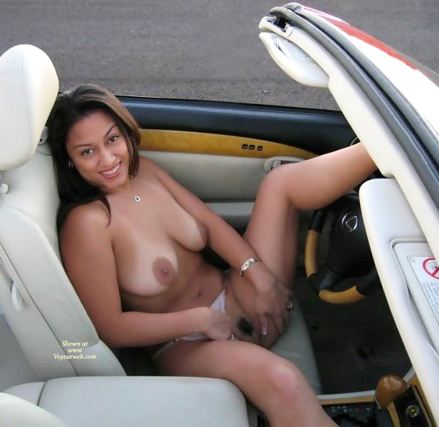 Think, that Amateur pussy flashing in car consider