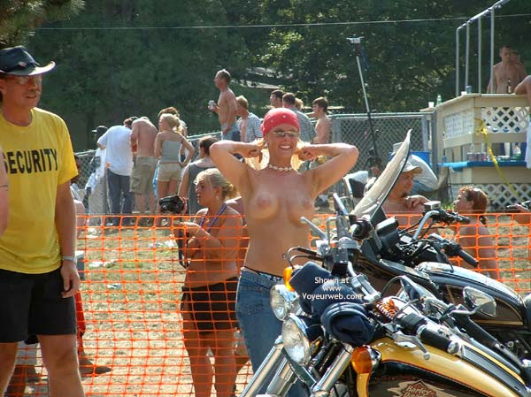 Pic #4 - Hot Biker Chick