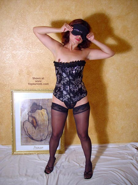Pic #1 - Corset And Nylons