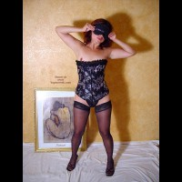 Corset And Nylons