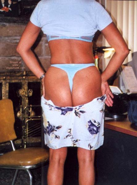 Pic #2 - Blue Thong