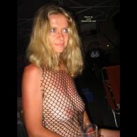 Fishnet Top - Blonde Hair, Top