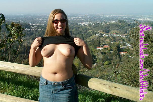 Pic #5 - LatinLittleLisa's First Time Outdoors!!