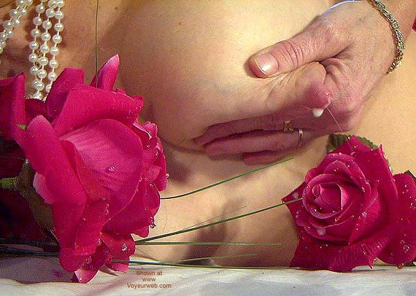 "Pic #6 - ""Tits and Roses"" Temptress Lactating"