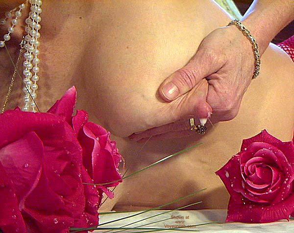 "Pic #8 - ""Tits and Roses"" Temptress Lactating"