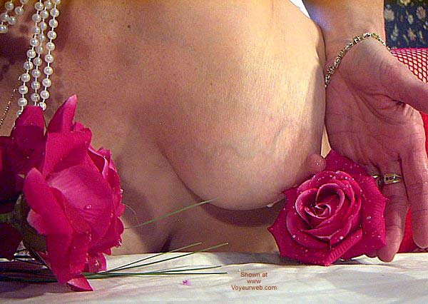 "Pic #9 - ""Tits and Roses"" Temptress Lactating"